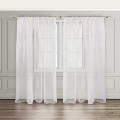 Комплект штор «Trottola», белый