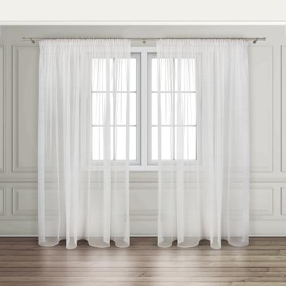 Комплект штор «Veletta», белый