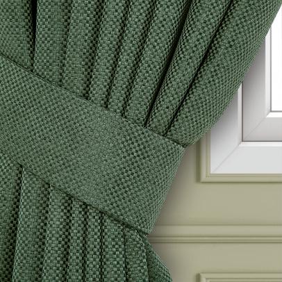 Подхват для штор «Сoriandolo», темный бутылочно-зеленый