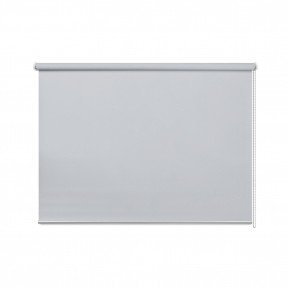 Рулонная штора «Натали», блекаут, серый натали 10
