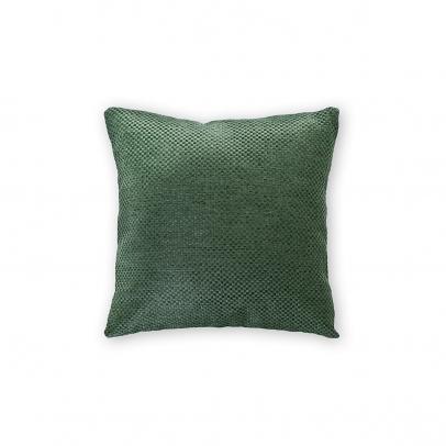 Декоративная подушка «Сoriandolo» 40х40, темный бутылочно-зеленый