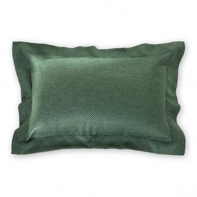Декоративная подушка «Сoriandolo» 50х70, темный бутылочно-зеленый