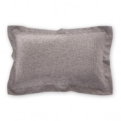 Декоративная подушка «Derby» 50х70, серо-коричневый меланж
