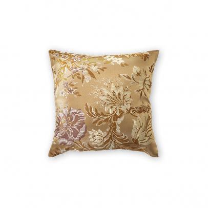 Декоративная подушка «Palazzo» 40х40, золотистый бежевый