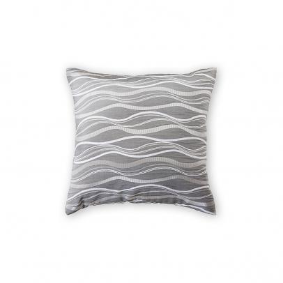 Декоративная подушка «Benvenuto» 40х40, серебристый