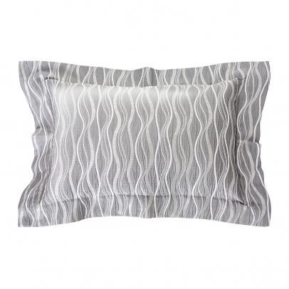 Декоративная подушка «Benvenuto» 50х70, серебристый