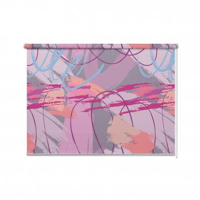 Рулонная штора с принтом «Кисть Дали», мульти